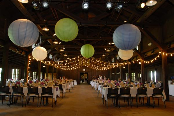 Below Wedding Reception Design At Hy Days Lodge Conservancy For The Cuyahoga Valley National Park Rankin Events